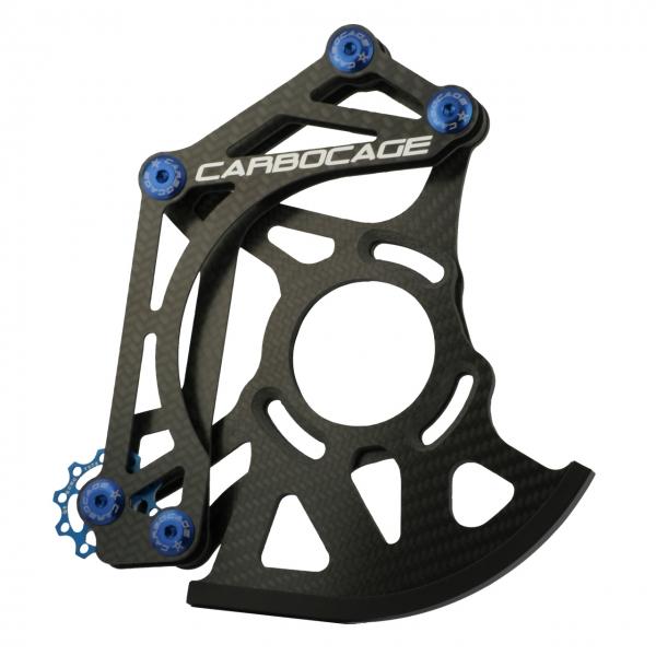 CARBOCAGE DH - Downhill Kettenführung Carbon (CFK)