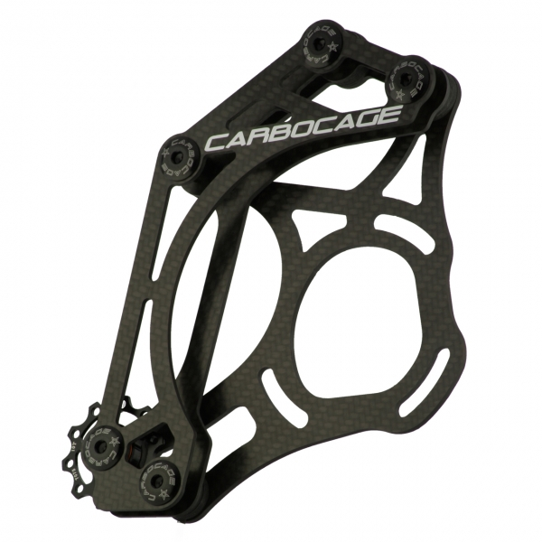 CARBOCAGE FR mini-Freeride Kettenführung Carbon (CFK)